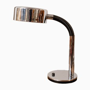 German Chrome Plated Table Lamp from Hillebrand Lighting, 1970s