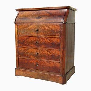 Antique Napoleon III Style French Mahogany Veneer Dresser