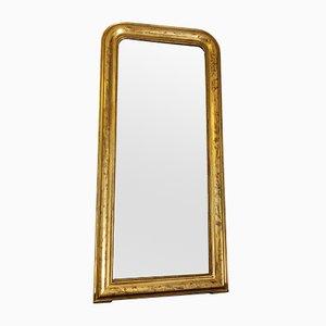 Antiker vergoldeter Spiegel im Louis Philippe Stil