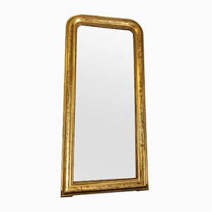 Antique Louis Philippe Style Gilded Mirror