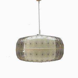 Lámpara colgante de Aloys F. Gangkofner para Erco Leuchten, años 60