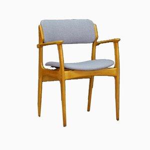 Vintage Danish Teak Armchair by Erik Buch for Oddense Maskinsnedkeri