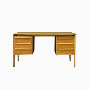 Vintage Schreibtisch aus Eschenholz von GV Møbler