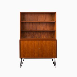 Scandinavian Modern German Steel and Teak Dresser from WK Möbel, 1960s