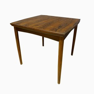Vintage French Teak Game Table