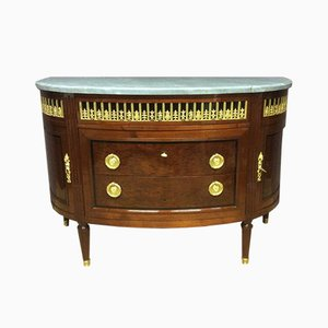 Antique French Demi-Lune Commode