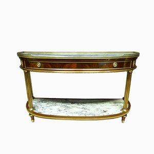 Großer antiker Louis XVI Konsolentisch aus Frankreich