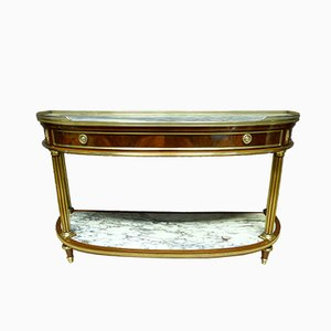 Large Antique Louis XVI French Console Table
