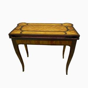 Antiker Spieltisch von Dubois. J für Jurande JME