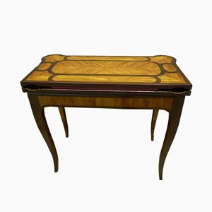 Antique Games Table by Dubois. J for Jurande JME