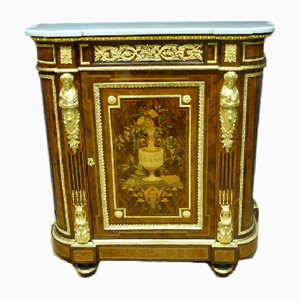 Antique Napoleon III Inlaid Buffet