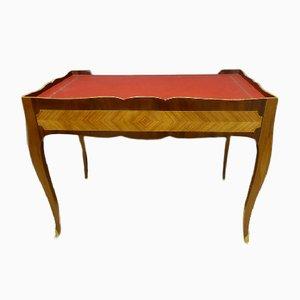 Antiker Schreibtisch aus Mahagoni im Louis XV Stil