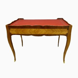 Bureau Style Louis XV Antique en Acajou