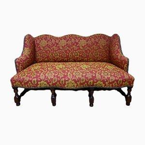 Antique French Walnut Louis XIII Sofa