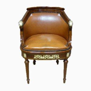 Antiker Louis XVI Schreibtischstuhl