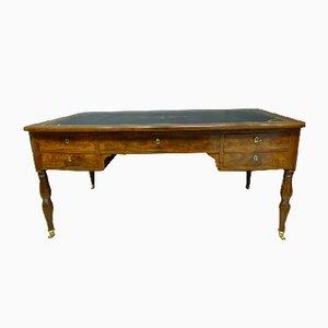 Large 19th-Century Mahogany Desk
