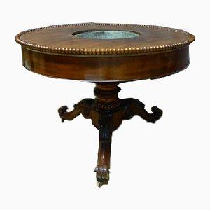 Mesa pedestal antigua