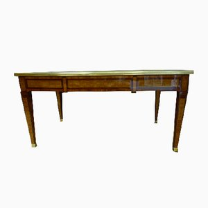 Antique Louis XVI Style Inlaid Desk