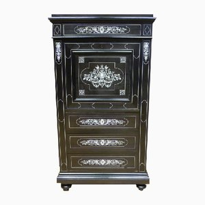 Antique Napoleon III Blackwood Secretaire