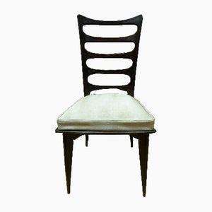 Chaises de Salle à Manger Vintage par Gaston Poisson, Set de 6