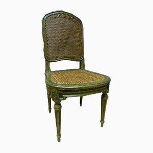 Lackierte Louis XVI Stühle aus Buche, 1970er, 10er Set