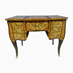 18th-Century Marquetry Dressing Table