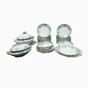 Servicio de mesa vintage de 55 piezas de Choisy Le Roi