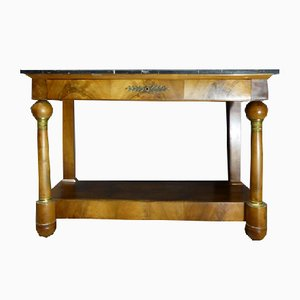 Antique Walnut Console