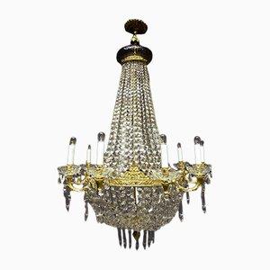 Lámpara de araña imperial antigua
