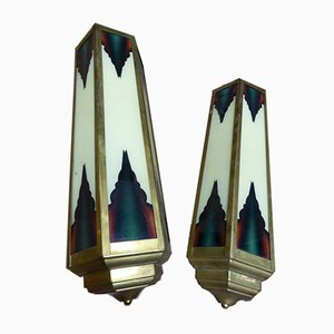 Vintage Lamps, Set of 2