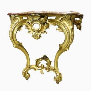 Mesa consola Napoleon III antigua