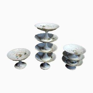 Vintage Porcelain Fruit Bowls, Set of 8