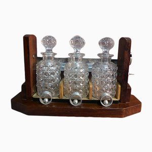 Whisky Cellar Set from Baccarat, 1930s