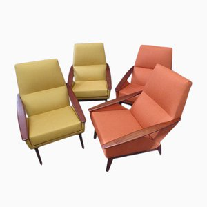 Vintage Stühle, 4er Set