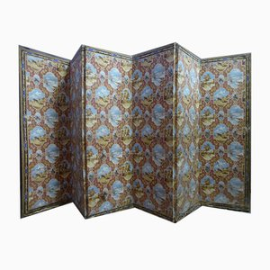 Antique Six Leaves Screen