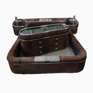 Juego de dormitorio Nubuck vintage