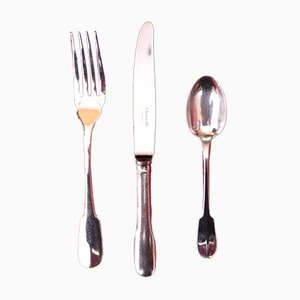 Mid-Century French Silver Tableware from Christofle
