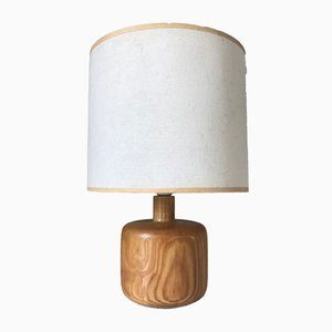 French Pine Table Lamp, 1970s