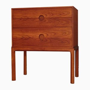 Model 386 Teak Dresser by Kai Kristiansen for Aksel Kjersgaard, 1960s