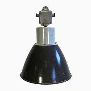 Lámpara de techo de aluminio y esmalte de Elektrosvit, años 60