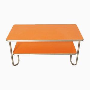 Art Deco Chrome Plated Coffee Table, 1930s