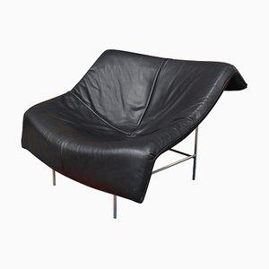 Sessel aus Kuhleder von Gerard van den Berg für Montis, 1980er