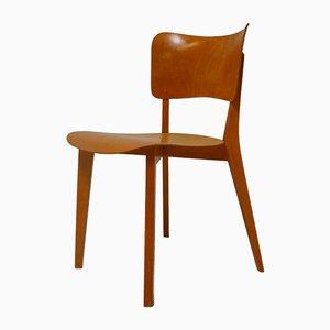 Erstausgabe Kreuzzargen Stuhl von Max Bill für Horgenglarus, 1950er