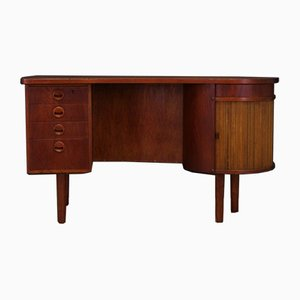 Danish Teak and Veneer Desk by Kai Kristiansen, 1960s
