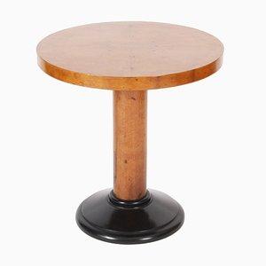 Tavolino Mid-Century impiallacciato in acero, Francia, anni '50