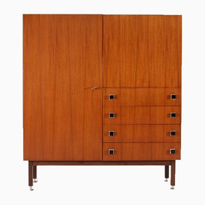 Belgian Modernist Teak and Wenge Sideboard from Combineurop, 1960s