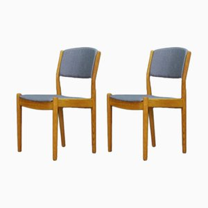 Danish Ash Dining Chairs by Poul Volther for FDB, 1960s, Set of 6