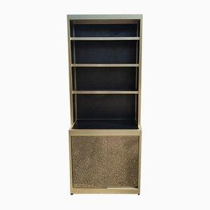 Mueble de pared vintage de madera, años 70