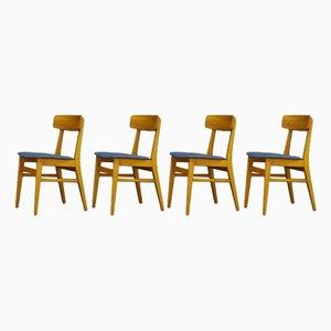 Dänische Esszimmerstühle aus Teak von Farstrup Møbler, 1960er, 4er Set