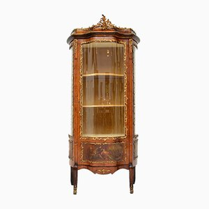 Antique French Painted Display Cabinet